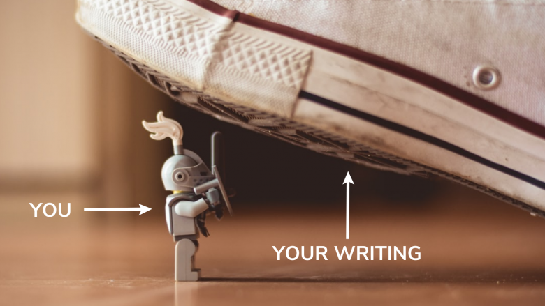 The discipline of facing your writing everyday.